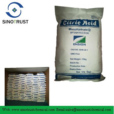 CAS NO:77-92-9/5949-29-1 Citric Acid Monohydrate