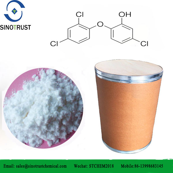 Triclosan used for daily chemicals raw materials for detergent powder